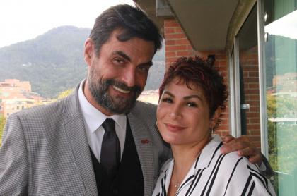 Rafa Taibo y Ayda Valencia