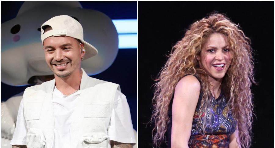 J Balvin y Shakira