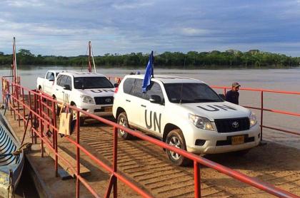 Camionetas Naciones Unidas Colombia