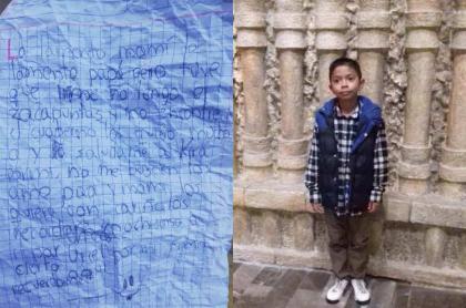 Uriel Reyes niño mexicano
