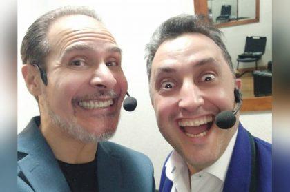 Miky McPhaton y Andrés López
