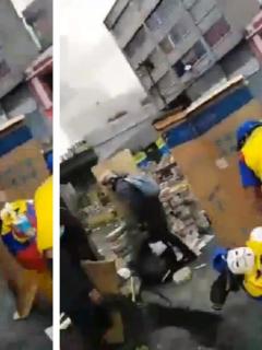 [Video] Impactante momento en que un manifestante recibe disparo en la cabeza, en Ecuador