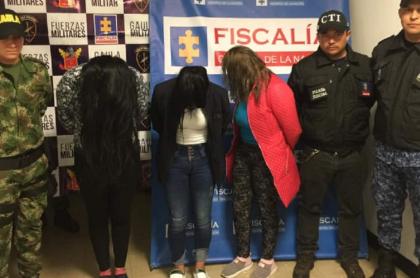 Capturadas por tráfico de drogas