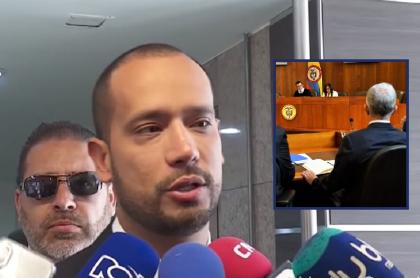 Diego Cadena, abogado del expresidente y senador Álvaro Uribe.