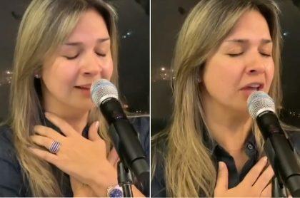 Vicky Dávila, periodista.