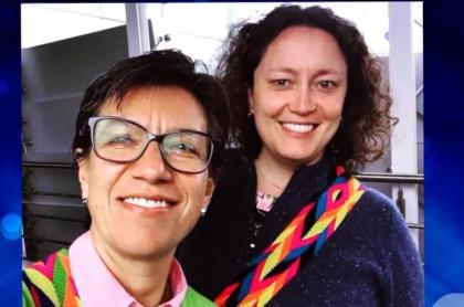 Claudia López y Angélica Lozano