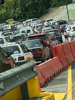 ¡Paciencia! Está colapsada la vía Villavicencio – Bogotá en el plan retorno de este lunes