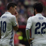 James e Isco, Real Madrid