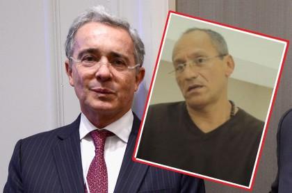 Álvaro Uribe y Carlos Enrique Vélez
