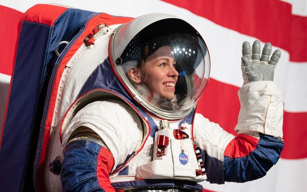 Nuevo traje espacial de la Nasa