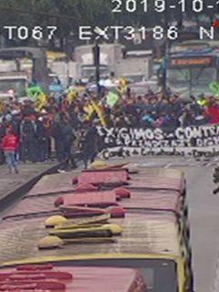 Bloqueos en 3 puntos de Bogotá por marchas anticipadas del Sena
