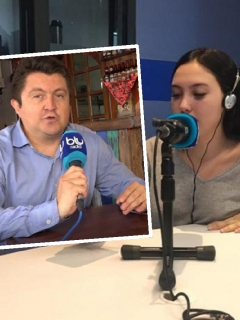 Vaciadón (con altura) al aire de hija de Aída Merlano a periodista de Blu Radio