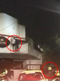 Los dejó locos: ladrón robó $ 2 millones en una panadería y... ¡delante de 10 policías!