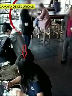 [Video] Así es como roban a clientes en Tostao' mientras esperan o preparan el café