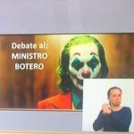 Debate a Mindefensa en el Congreso