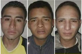 Presuntos ladrones de SITP.