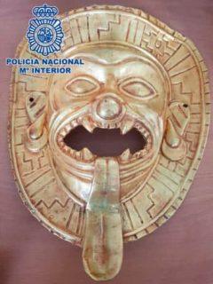 Capturan a colombianos en España que iban a vender por millonada pieza precolombina