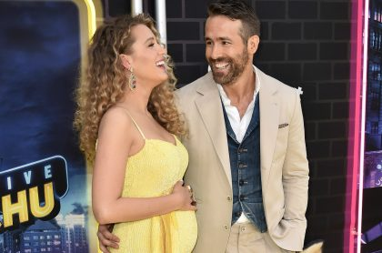 Balke Lively y Ryan Reynolds