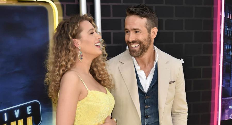 Balke Lively y Ryan Reynolds