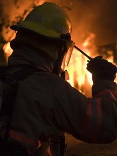 [Video] A bombero se le chamuscó la conciencia: robó a víctimas en pleno incendio