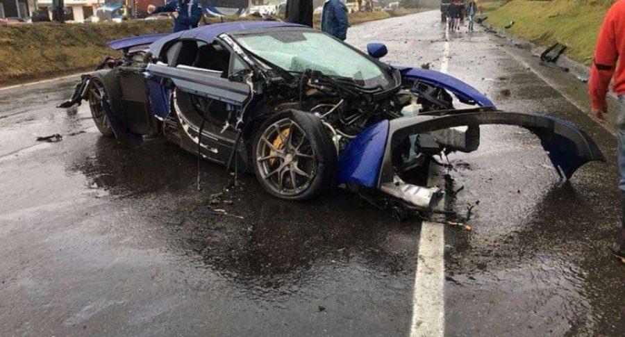 Accidente del McLaren