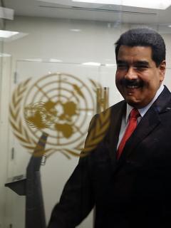 Nicolás Maduro en la ONU