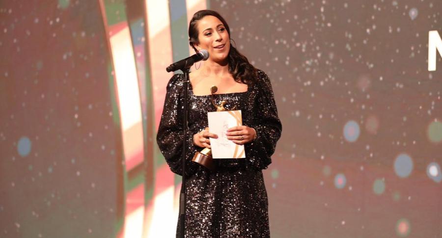 Mariana Pajón en los ANOC Awards