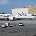 Avión de Qantas