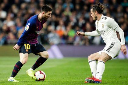 Barcelona vs Real Madrid (Messi y Bale)
