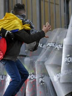 Claudia Palacios critica las movilizaciones y Paloma Valencia les pone cifras alarmantes