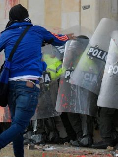 A estas 9 personas les grabaron sus rostros en protestas y ahora las busca la Policía