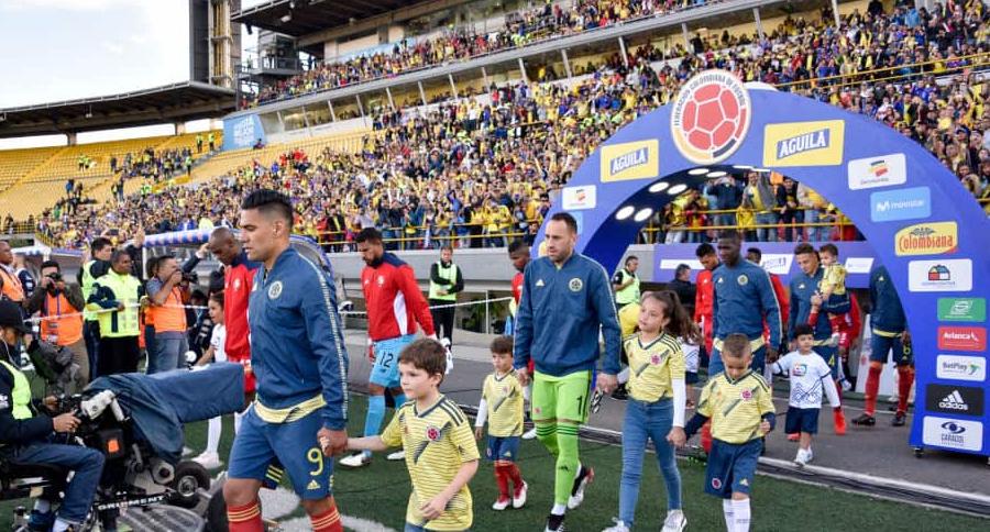 Selección Colombia en El Campín