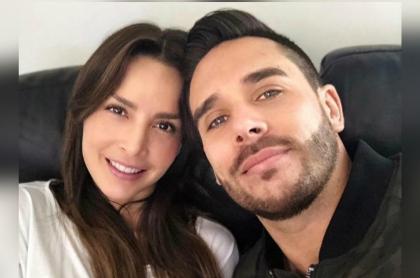Carmen Villalobos y Juan Sebastián Caicedo