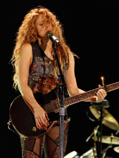 [Video] Shakira se animó a cantar una de Green Day y le piden que cante más rock