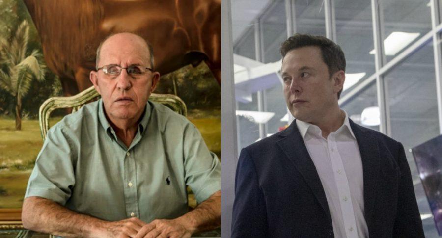 Roberto Escobar Gaviria y Elon Musk