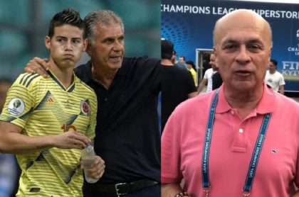 James, Queiroz y Vélez