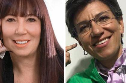 María Jimena Duzán y Claudia López