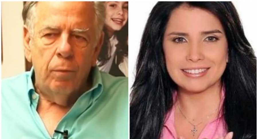 Julio Gerlein y Aída Merlano