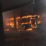 Portesta incendios Chile