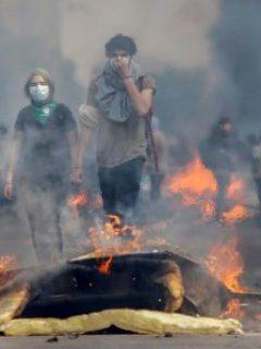 Colombiano, con múltiples heridas de bala, murió en medio de los disturbios en Chile