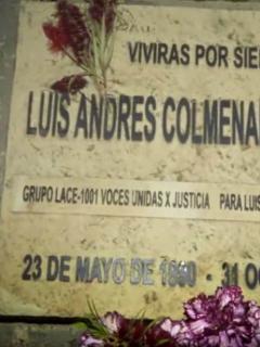 ¿Quién regresó al caño El Virrey unos días después de que murió Luis Colmenares?