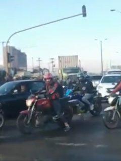 Cierran Av. Ciudad de Cali por muerte de motociclista en accidente de tránsito