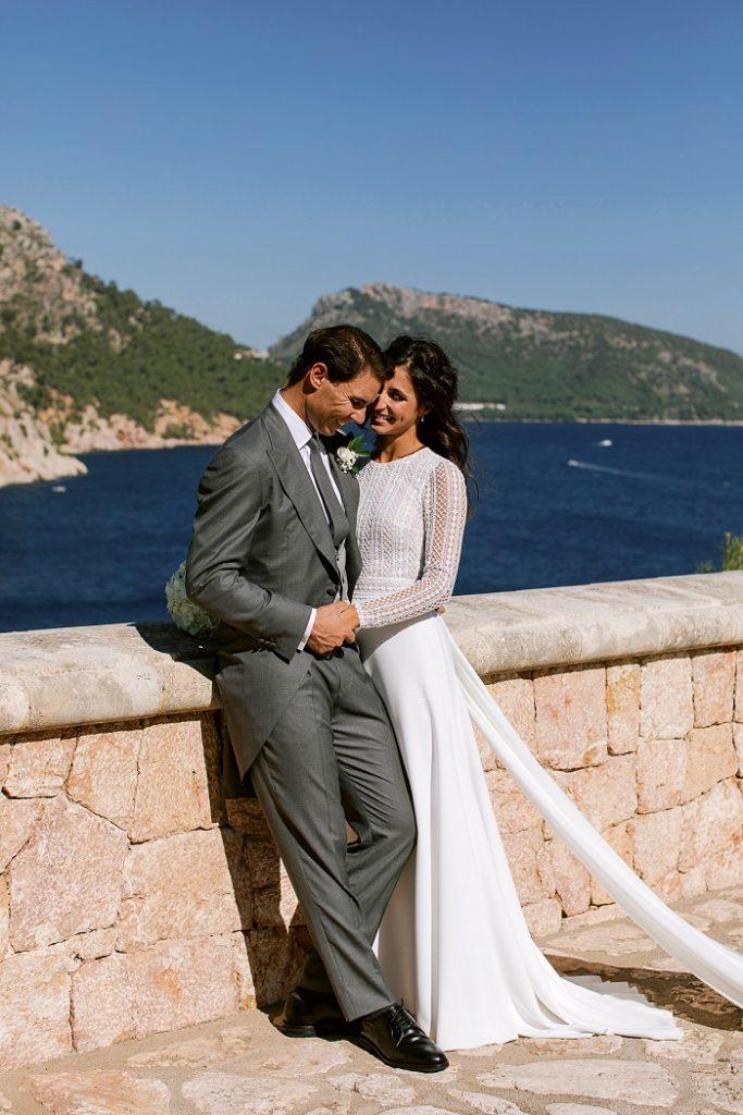 Rafael Nadal, tenista, el día de su boda con Mery Perelló.