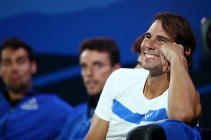 Rafael Nadal, tenista.