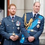 Prínicipes Harry y William