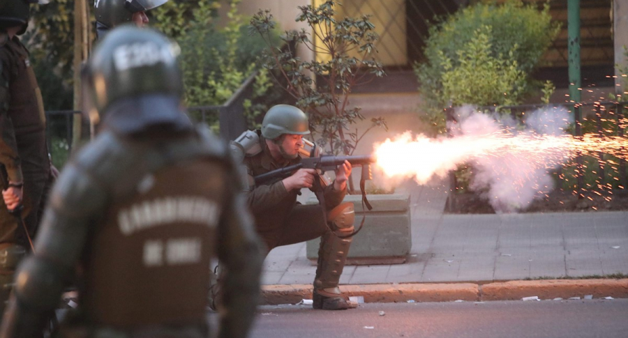 Policía de Chile en protestas