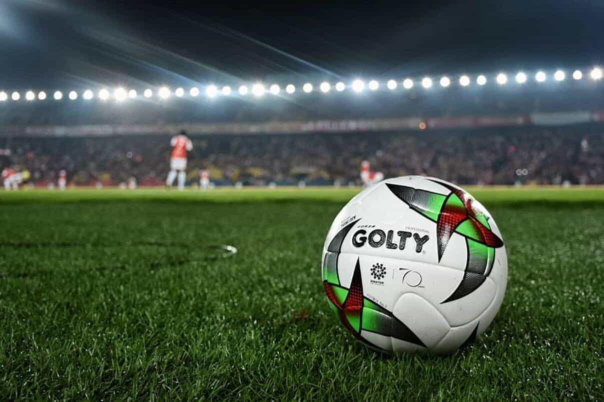 Balón Golty del fútbol colombiano