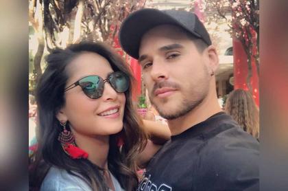 Carmen Villalobos y Sebastián Villalobos