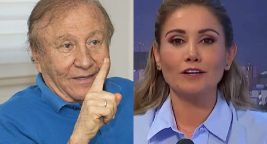 Rodolfo Hernández y Claudia Lucero López