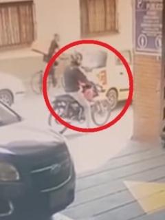Revelan rostro del conductor de la moto en la que se fugó Aída Merlano